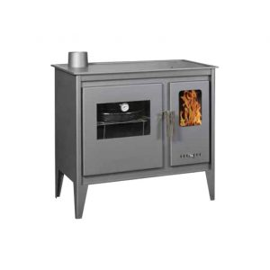 Woodburning stoves with oven